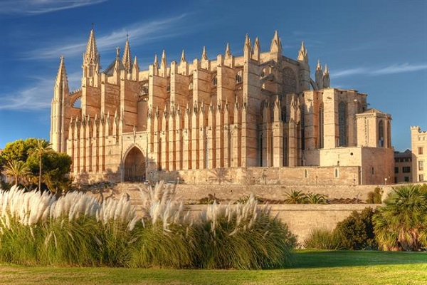 The Cathedral of Santa Maria in Majorca