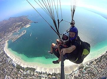 Paragliding Mallorca Majorca
