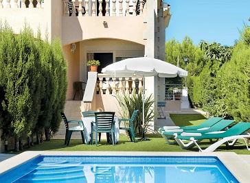 Villa El Olivo in Alcudia in Majorca