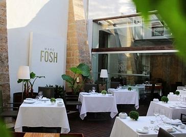 Marc Fosh Restaurant in Palma de Majorca